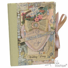 VINTAGE WEDDING DIARY - Planner/Planning Book/Journal/Organiser/Engagement Gift