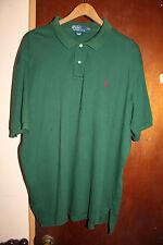 Polo Ralph Lauren Green Men's Polo Shirt Size XXL 2XL