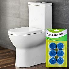 72x BLUE TOILET BLOCK TABLETS Loo/Lavatory Cistern Cleaner Clean Fresh Fragrance