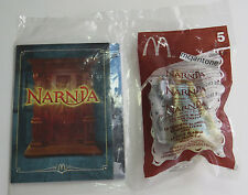 MIP McDonald's Happy Meal 2005 Chronicles Narnia #5 WHITE WITCH Sgl Toy YELLOWED