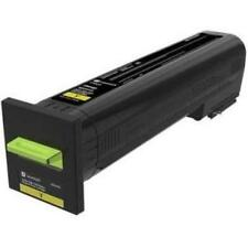 Lexmark 82K1HY0 Cx820 Cx825 Cx860 High Yield Yellow Return Program Toner