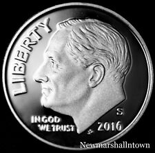 2016 S Roosevelt Dime Silver Proof ~ US Coin from Mint Proof Set
