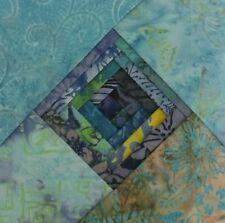 """Batik Fabric - 40 - 5 """" Charm Squares - By The Blue Sea - Free AU Post !!"""