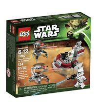 75000 CLONE TROOPERS VS. DROIDEKAS star wars lego NISB battle pack SERGEANT