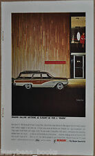 1964 MERCURY COLONY PARK wagon advertisement, Mercury station wagon