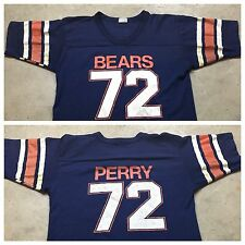 80s VTG William THE FRIDGE Perry Chicago BEARS M Jersey T Shirt Football Soft