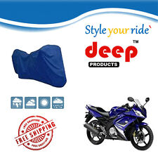Bike Body Cover With Mirror Pocket for YamahaYZF R15 (BLUE)