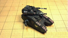 3D DIY Paper model Warhammer 40K space marines Legion Sicaran Battle Tank 15CM