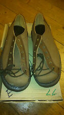 GEORGE COX VINTAGE ROCK 70 80 RARE CREPE RUBBER CREEPERS UK 4 SHOE BOOT