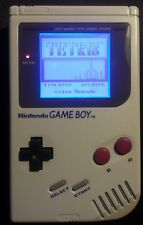 Nintendo Gameboy dmg-01 retroilluminazione e ORIGINAL bivert LCD PLUS Tetris Bundle