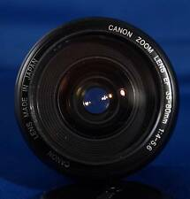 EUC CANON EF 35-80mm  f4-5.6 AF  Zoom Lens for Digital or Film