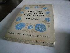 Les grandes doctrines littéraires en France par P Van Tieghem