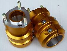 2 Radsterne, 50 x 115 mm , Radstern Gold oder schwarz  Rennkart, Kart,  NEU