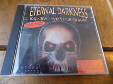 Eternal Darkness 100 New Levels For Quake  PC-CD Rom Jewel Case