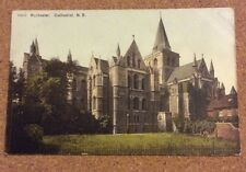 Old Postcard of Rochester Cathedral From N.E.