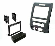 Aftermarket Double Single Din Radio Mount Car Stereo Install Dash Kit for F-150