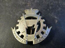 Belgium  WWI Logistics Non-Com. Hat Badge