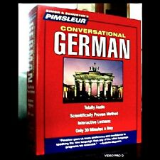 PIMSLEUR Learn to Speak GERMAN Language 8 CDs NEW NIB 16 Lessons) FREE CD CASE