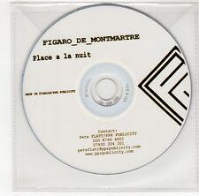 (GO269) Figaro de Montmartre, Place a la Nuit - DJ CD