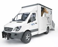 Mercedes Benz Sprinter Transportador de animales incluso 1 Caballo 02533 (C)