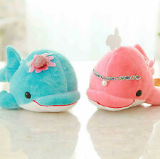 """New Unisex Plush Toy Dolphin Soft Stuffed Sea Creatures 10""""Cuddly Doll Kids Gift"""