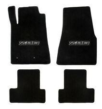 NEW! 1982-1992 Camaro Floor Mats Black Set of 4 Carpet Embroidered Z28 on Fronts