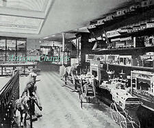 Opening Of Hamley's New Toy Shop 202 Regent St London 1905 Page Photo Article