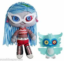 MONSTER High Ghoulia Yelps e Sir Hoots a lot