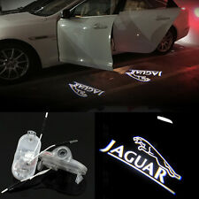 2x Led Jaguar 3D Door Courtesy Welcome Shadow Projector Lights For Xj 2004-2015