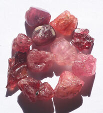 Natural Unheated Burma Red/Pink SPINEL Specimen Rough Lot 25.75cts