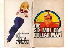 (!) The Bionic Woman & Six Million Dollar Man $ 6 CHEERIOS double-stickers 70s
