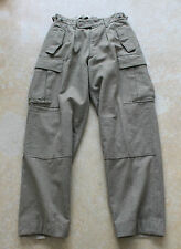 NIEMANN & CO Military Heavy Wool Cargo Pants Sz. 30x31 Hunting Sking, Used!