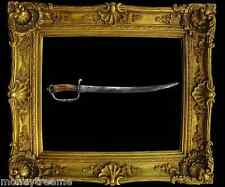 "EUROPEAN IRON-HILTED HANGER-CUTLASS SWORD 1700-1730 & 21"" ARMORER'S MARK W/ COA"