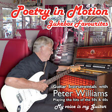 Jukebox Favourites Vol 1 POETRY IN MOTION - Peter Williams Guitar Instrumentals