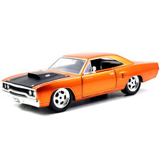 1/24 Jada 97126 Fast & Furious 7 Dom's 1970 Plymouth Road Runner Diecast Copper