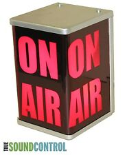 """ON AIR"" 3-Sided Studio Warning Light Sign 110V AC NEW"