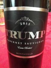 New release!! Trump 2015 Cabernet Sauvignon Make America GRAPE Again *3 BOTTLES*