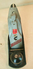 "#4 STANLEY HANDYMAN #H1204 STEEL WOODWORKING SMOOTH BENCH PLANE 9¾ "" x 2½"" USA"