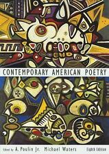 Contemporary American Poetry by Poulin, A., Waters, Michael