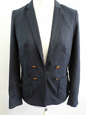 Maison Scotch Navy Blazer with Sailor Buttons Size 2 - UK 10 Box1213 f