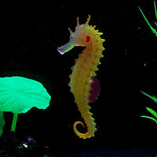 Artificial Aquarium Water Plant SEAHORSE Floating Jellyfish Tank Coral Ornament
