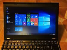 "Lenovo ThinkPad X220 Laptop 12.5"" Core i5 2.5GHz 8GB 320GB Windows 10 Office"