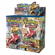 POKEMON XY-9 BREAK-POINT - SEALED BOOSTER BOX - 36 PACKS -NEW TRADING CARDS 2016