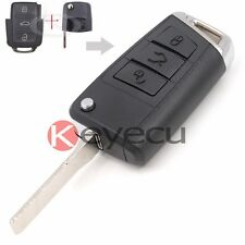 Modified Golf 7 Stylish Remote Car Key Shell Case Fob for Volkswagen Seat Skoda