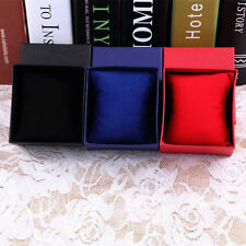 Gift Boxes Case With Pillow For Bangle Jewelry Ring Earrings Wrist Watch Box TSC