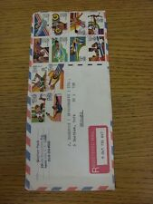 15/08/1983 Olympic Games 1984: An Airmail 'Registered Mail' Envelope, Sent From