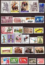 POLOGNE:Lot de 55 timbres scene de guerre,sport ,sujets divers G195