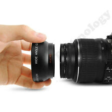 58MM 0.45x Wide Angle+ Macro Lens for Canon EOS 500D 1000D T1i T2i T3i