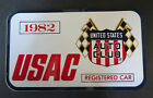 1982 Indianapolis Motor Speedway USAC Registered Decal / Vintage Racing Indy 500
