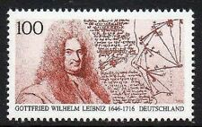 WEST GERMANY MNH STAMP SET DEUTSCHE BUNDESPOST GOTTFRIED W LEIBNIZ 1996 SG 2719